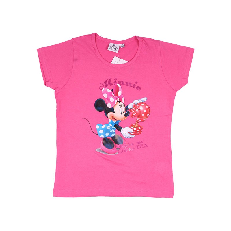 Tee-Shirt Manches Courtes Minnie Cup for Tea
