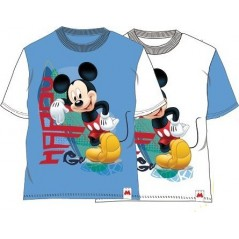 Tee- Shirt Manches Courtes Mickey Happy